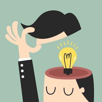 Ideas en la cabeza