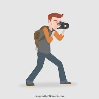 Ilustración de fotógrafo