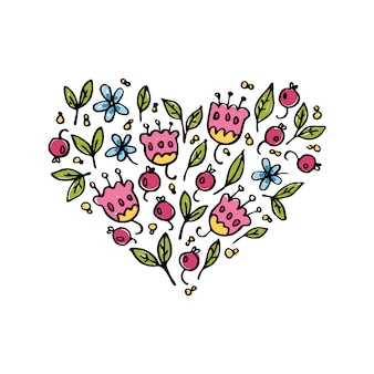 Ilustración del corazón