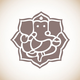 Ilustración Ganesha Gapati