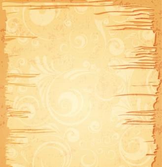 Ilustración sucia del vector del marco