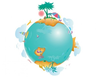 ilustraciones de la vida terrestre
