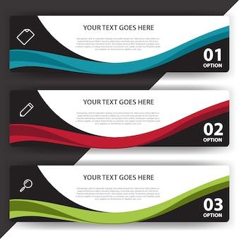 Infografía con diseño elegante