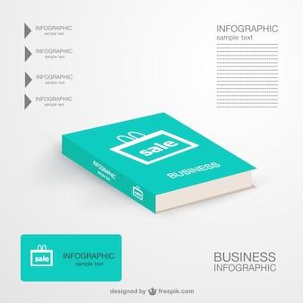Infografía con libro