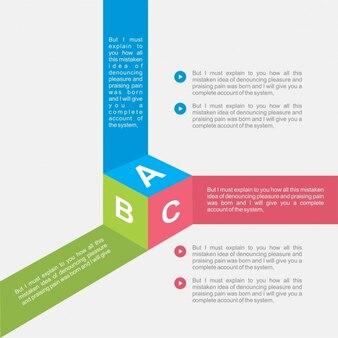 Infografía en forma de cubo