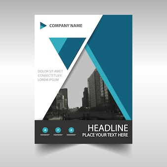 Informe anual abstracto elegante