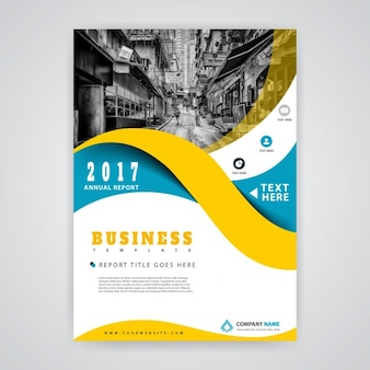 Informe de negocios de 2017 con ondas
