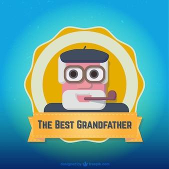 insignia del mejor abuelo
