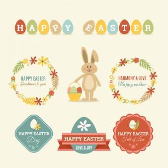 Insignias adorables de Pascua