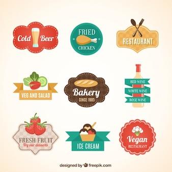 Insignias de comida