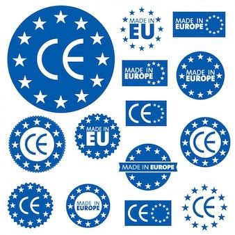 Insignias de la unión europea