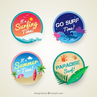 Insignias de surf