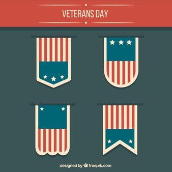 Insignias del día del veterano