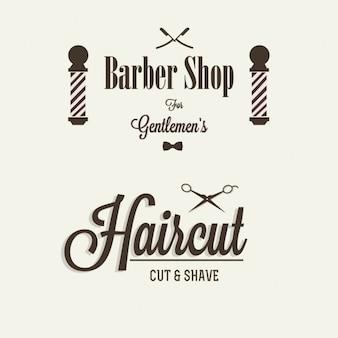 Insignias para barbería