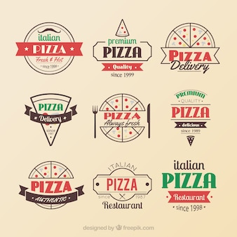 Insignias pizza
