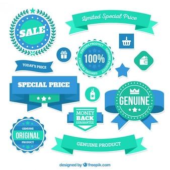 Insignias precios especiales limitados