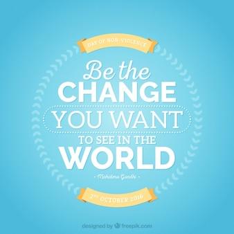 Inspiring peace quote