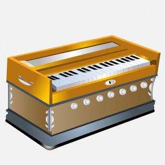 Instrumento musical teclado