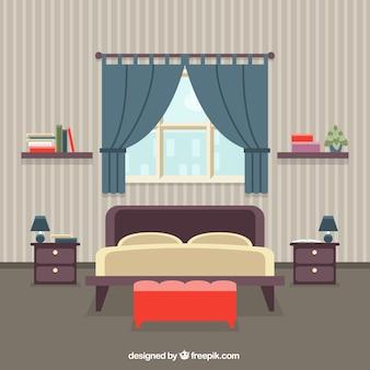 Interior del dormitorio