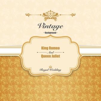 Invitación de boda real
