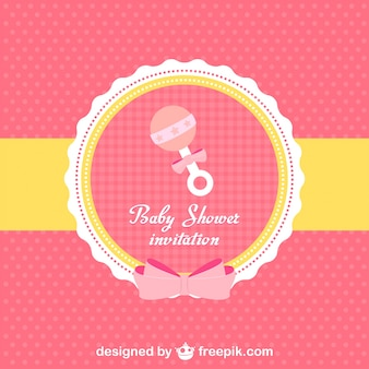 Invitación a baby shower