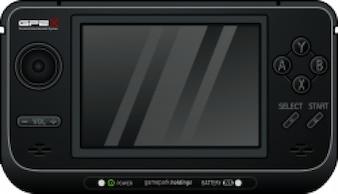 juego de consola portátil
