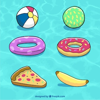 Inflable fotos y vectores gratis for Juguetes de piscina