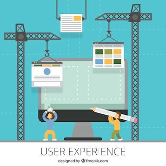 La construcción de un sitio web