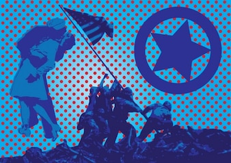 la historia de América