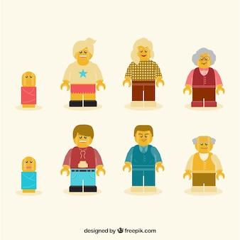 Las cifras de la familia
