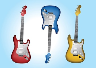 las guitarras eléctricas