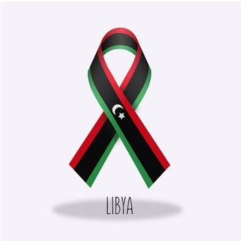 Lazo con diseño de bandera de libia