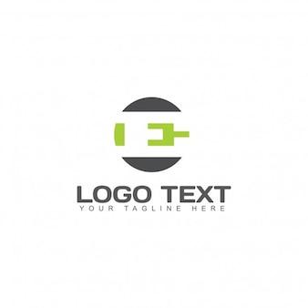 Letra e logo