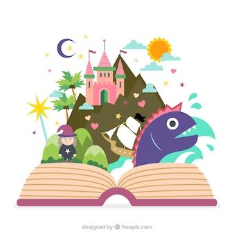 Libro de cuentos de hadas