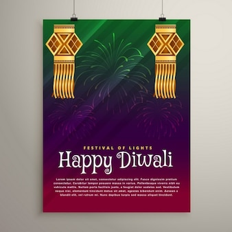 Lindo folleto diwali
