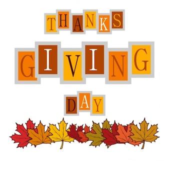 Lindo fondo para el día de acción de gracias