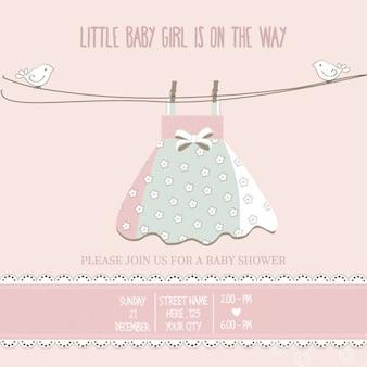 Lindo fondo rosa para la fiesta del bebé