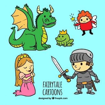 Lindos dibujos de cuentos de hadas