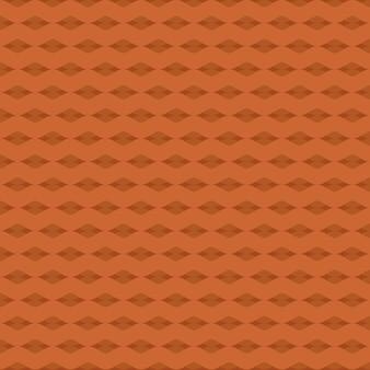 Línea marrón zigzag Patrón