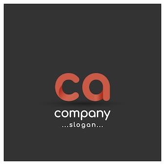 Logo con diseño de empresa