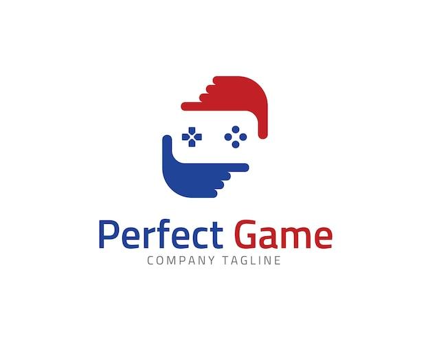 logo con diseo de videojuego