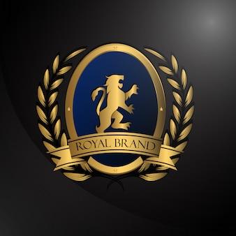Logo con diseño lujoso