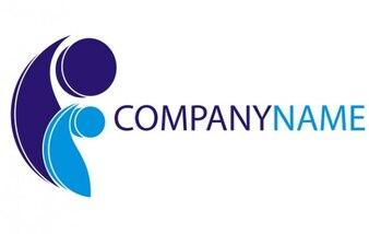 Logo creciente nombre de la empresa
