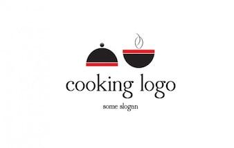 Logo de acero logo cooking cubierta