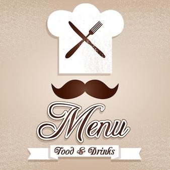 Logo de chef elegante