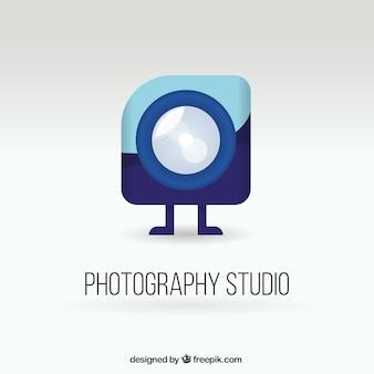 Logo de estudio de fotografía