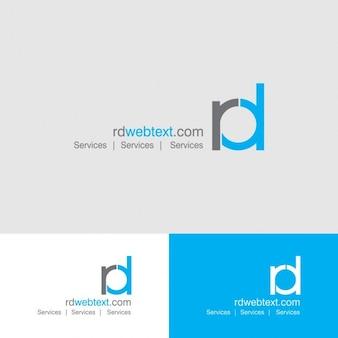 Logo de letras RD