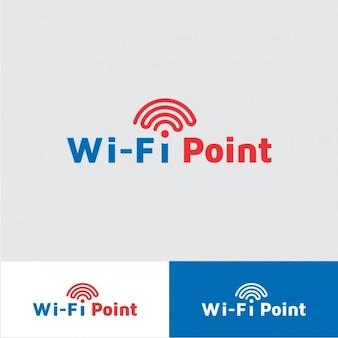 Logo de punto Wi Fi