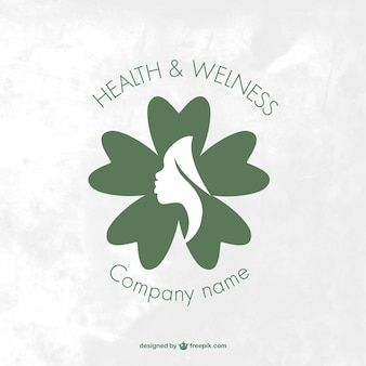 Logo de spa y bienestar