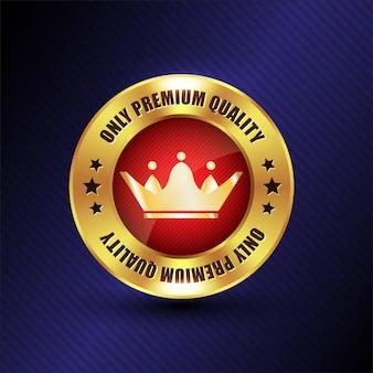 Logo premium redondo